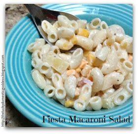 The Lucky Domestic Goddess: Fiesta Macaroni Salad