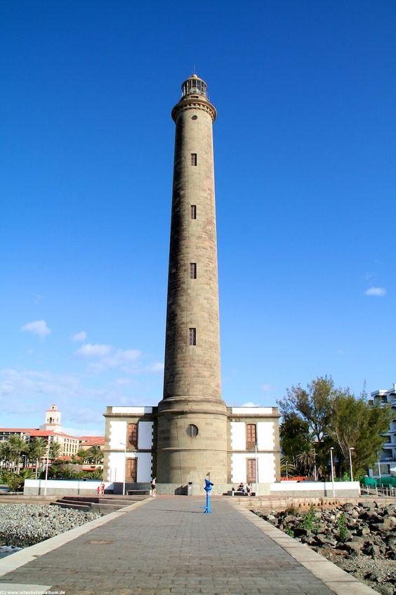 Gran Canaria Leuchtturm von Maspalomas