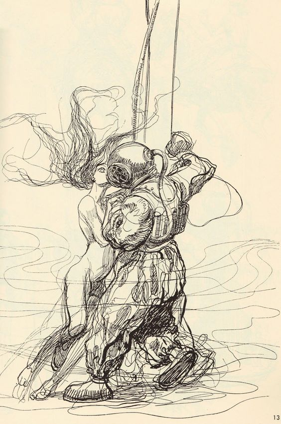 Heinrich Kley - this is one of my favorite pen and ink drawings