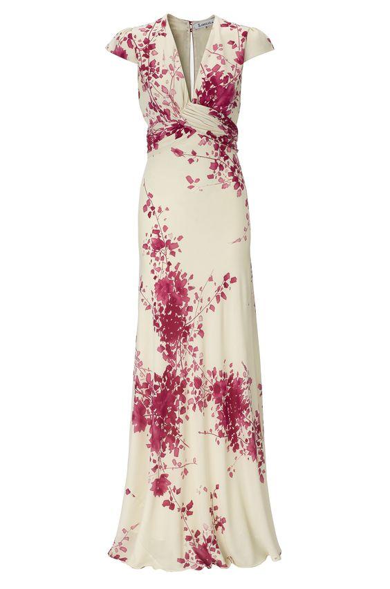 flowery dress