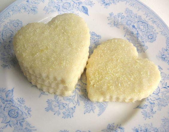 Luscious Lemon Shortbread Cookies