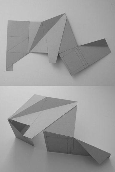 origami house - park avenue residence (voir autre pin pour photo)