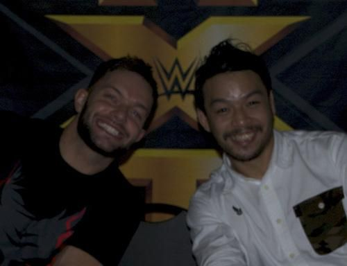 """k.さんはTwitterを使っています: """"this pic of @wwebalor and @HideoItami though http://t.co/rs3yTufgcQ"""""""