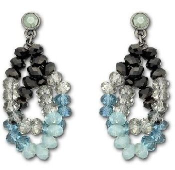 Glamour Mocca Earrings from Swarovski