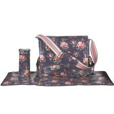 Spray Flowers Changing Bag
