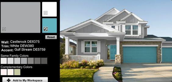 paint color chart paint colors and exterior paint colors on pinterest. Black Bedroom Furniture Sets. Home Design Ideas
