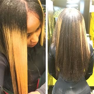 Blac Chyna's real hair is longer than most weaves, and we. are here. for. it! | 15 Celebrities Show What Their Real Hair Actually Looks Like Without Weave