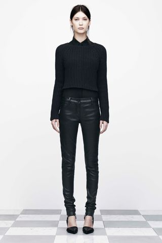 T by Alexander Wang, leather pants