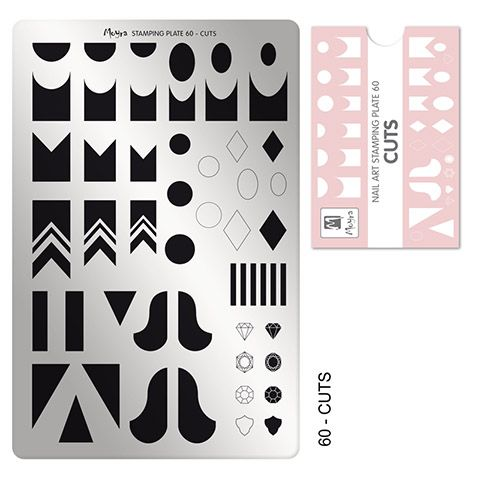 COMING SOON Moyra Stamping Plate 60 - Cuts