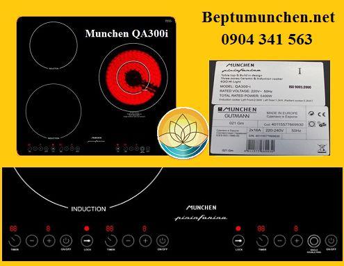 Giá bán của bếp điện từ Munchen QA 300I tháng 11/2017