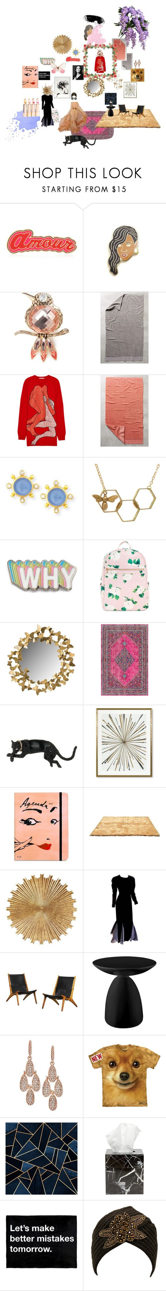 """""""welcome to the house of wisteria..Le foyer..."""" by tessjr on Polyvore featuring interior, interiors, interior design, home, home decor, interior decorating, Maria Francesca Pepe, Georgia Perry, Napier and Anthropologie"""