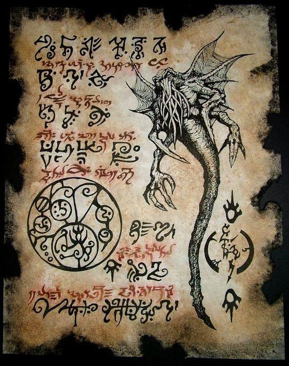 El Necronomicón,un libro salido de los infiernos Ad83b8e75f7a8583ddec35aea9d6907b