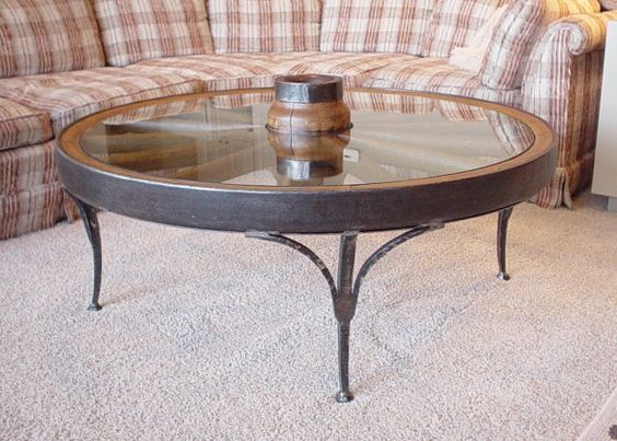 Wagon wheels coffee tables and wheels on pinterest Antique wheels for coffee table
