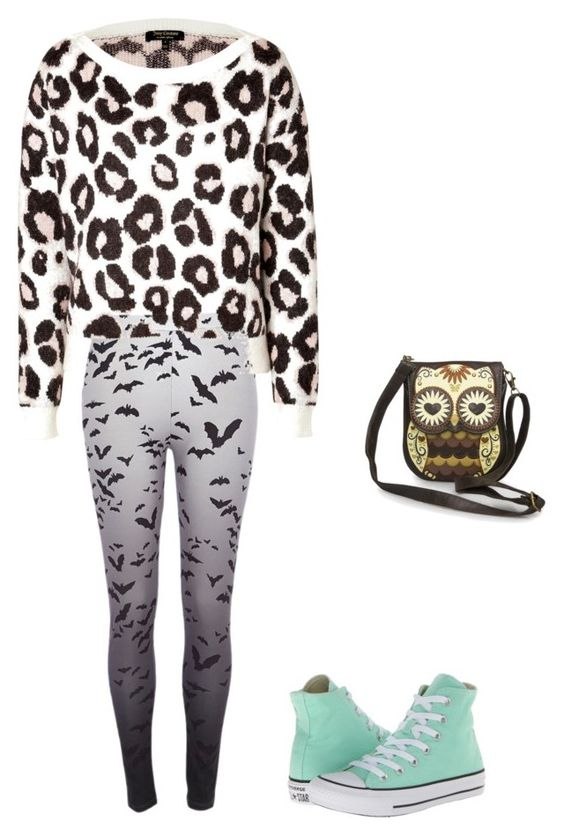 """""""Bez naslova #62"""" by lifestyle1982 ❤ liked on Polyvore featuring River Island, Juicy Couture and Converse"""