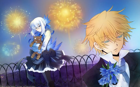 Echo and Oz ||| Pandora Hearts Wallpaper