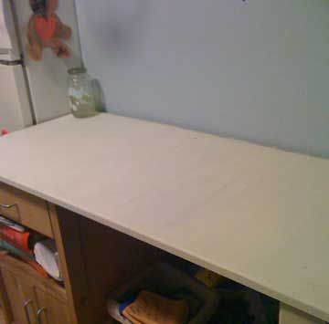 Countertop Paint Products : Painting laminate counter tops - Video Tutorial and supplies list More