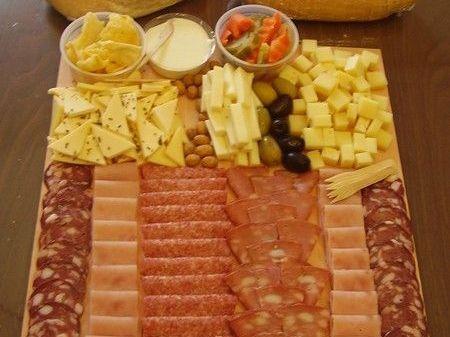 Consejos para hacer una tabla de fiambres y quesos