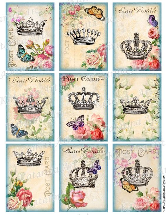 crowns for print