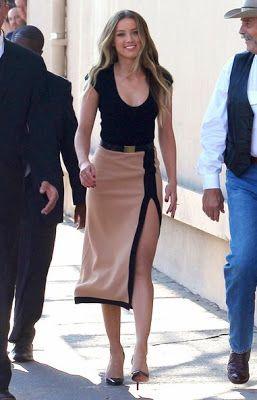 """Pactar con el Diablo por...: Los looks de Amber Heard durante la promoción de """"Paranoia"""""""