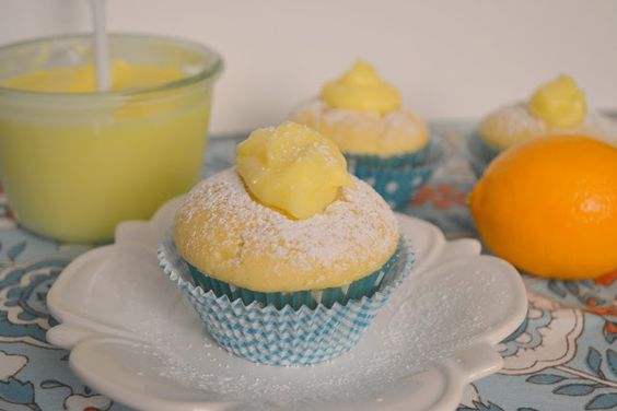 Candy Girl: Sour Cream Pound Cakes with Meyer Lemon Curd