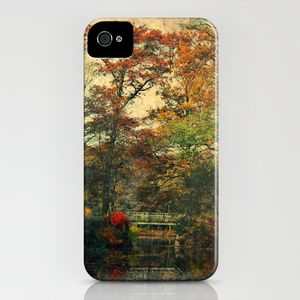 Vintage Forest iPhone Case by AD DESIGN Photo + PhotoArt - $35.00