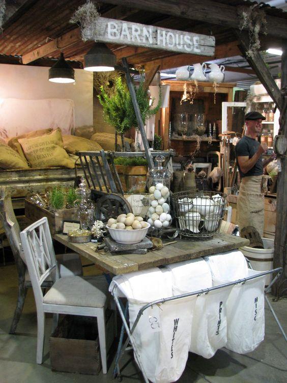 flea market table
