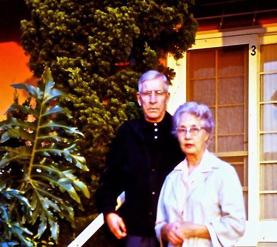 Gram and Gramp at Oldenbergs' '68