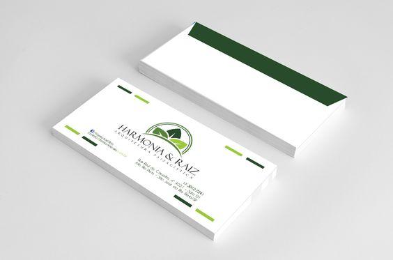 Tipo: Envelope ofício Cliente: Harmonia e Raiz