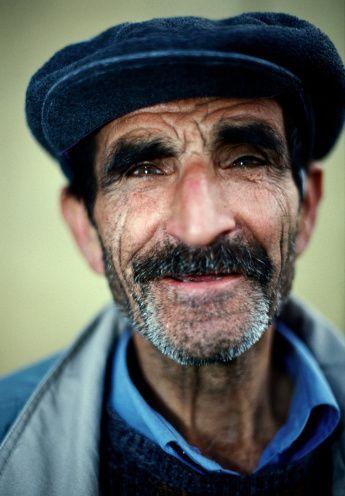 Portrait of an elderly Lebanese man