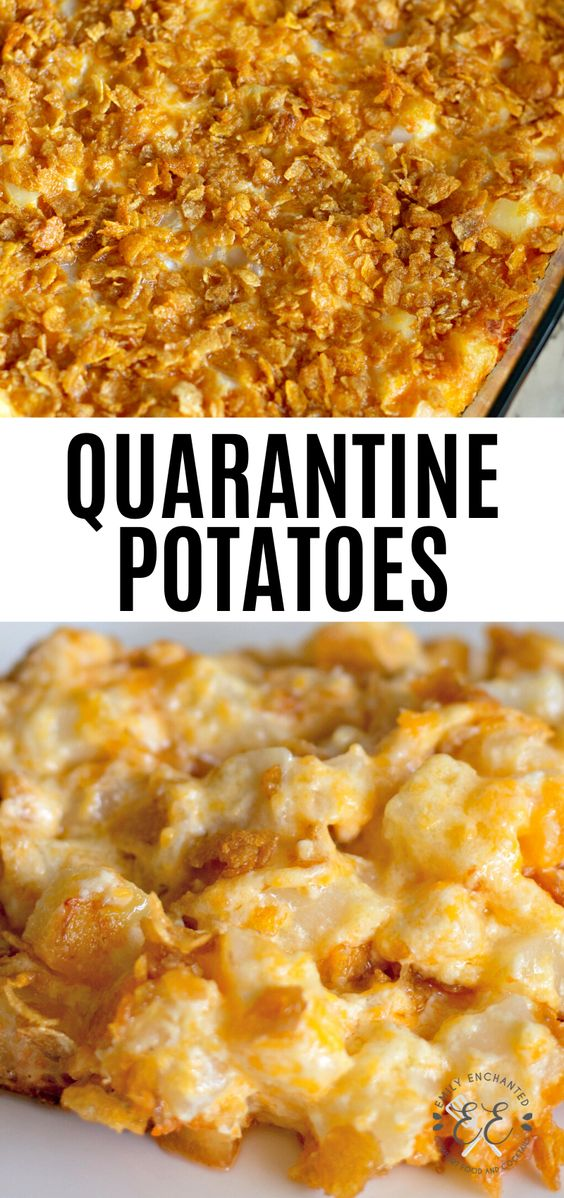 Easy Potato Casserole Side Dish for Quarantine
