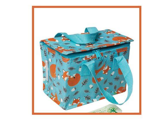 Lunchbags - Lunchbag Tasche Fuchs Rusty - ein Designerstück von Tante-Ulmi bei DaWanda