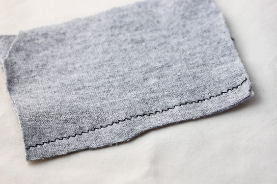 sewing machine settings for stretchy fabric