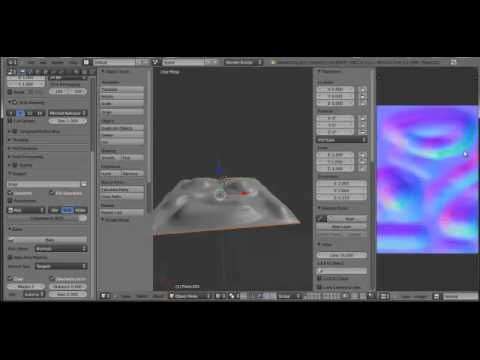 Blender how to make a Normal Map for Beginners 2.6