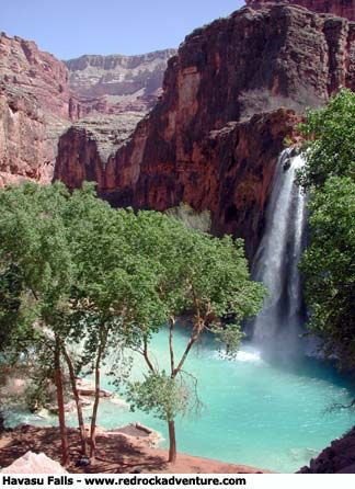 Havasu Falls (the Grand Canyon)- when the kids get older