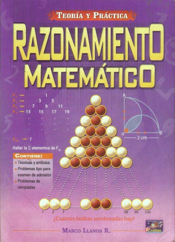 Razonamiento matematico - marco llanos