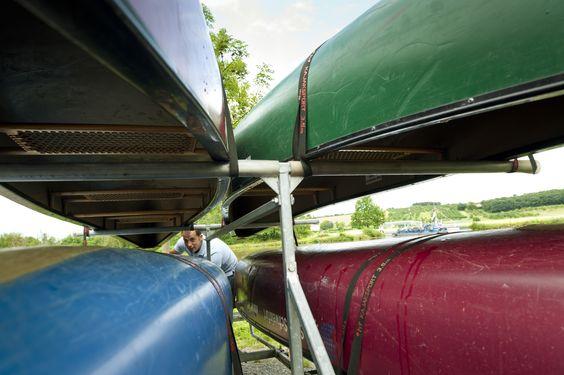 Die Kanus stehen bereits in den Startlöchern - http://www.schweinfurt360.de/  #Kanu #Kanutour #Wassersport