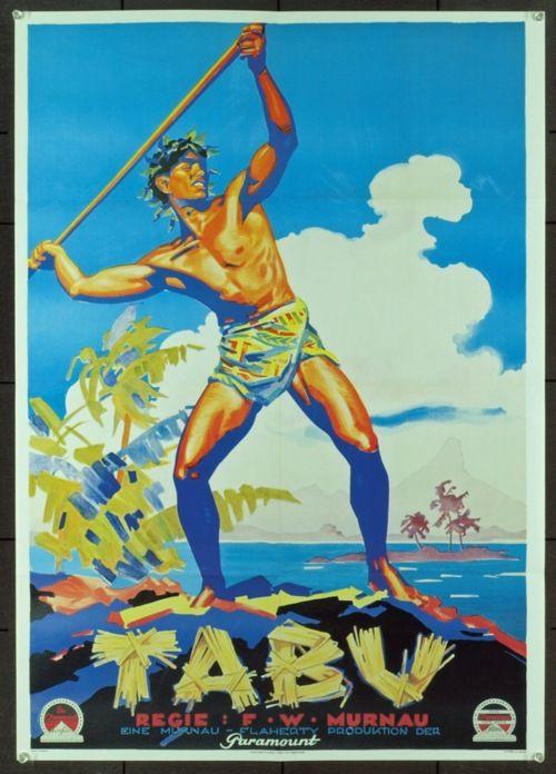 Tabu: A Story of the South Seas. F.W. Murnau, 1931.