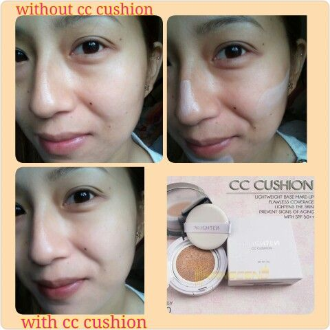 NLIGHTEN CC CUSHION for orders and inquries just message me