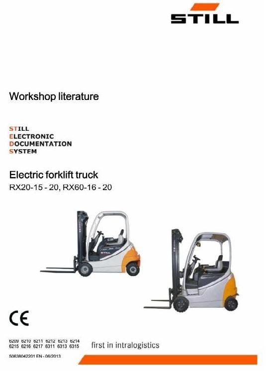Still Electric Forklift Rx20 15 Rx20 16 Rx20 18 Rx20 20 border=
