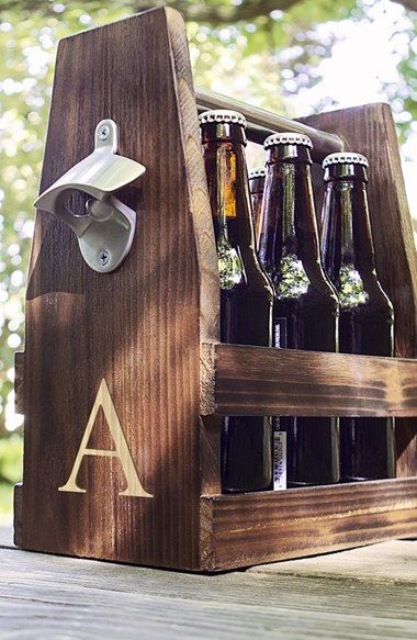 Personalized craft beer carrier
