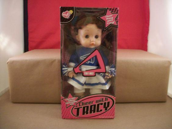 "Lovee Cheer Along With Tracy Doll -  Talking Cheerleader Doll 11""  New in box 2+ #loveedoll"