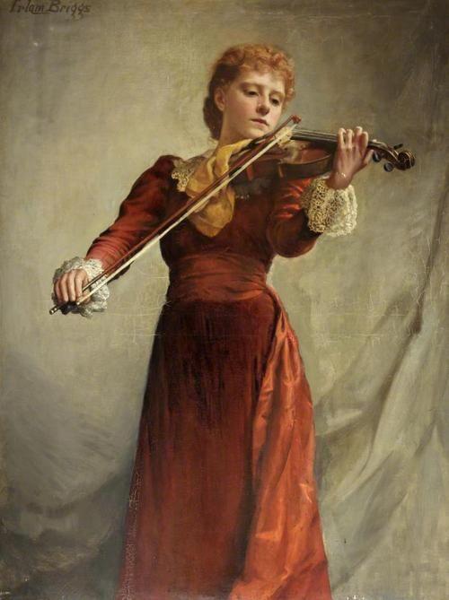 The Violinist - Emma Irlam Briggs