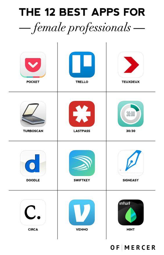 Best Apps For Professional Women   Of Mercer Blog   Main Image