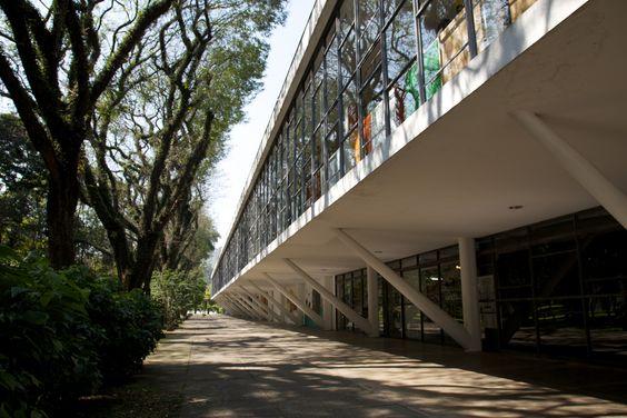 Afro Brazilian Museum, Ibirapuera Park, São Paulo, SP - Brazil