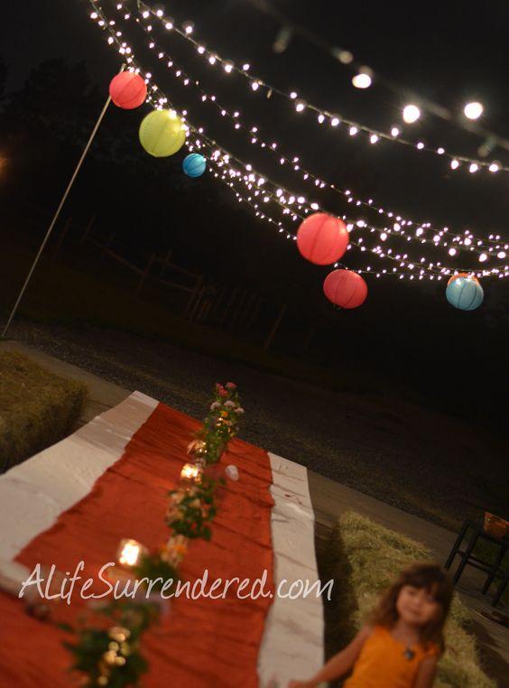 String Lights At Night : Pinterest The world s catalog of ideas