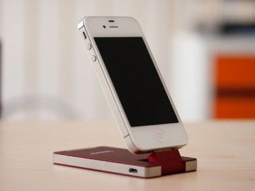 Mophie Product Red For Apple Devices – $40