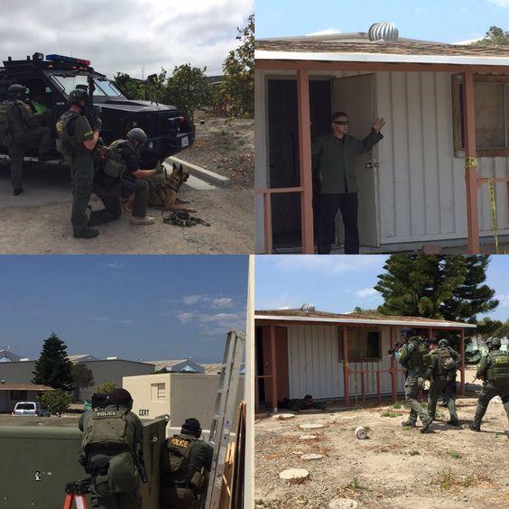 "Oxnard Police SEU on Twitter: ""Barricaded suspect training w/ @OxnardpoliceK9 and OPD HNT. #commitedtopublicsafety https://t.co/Kj8nfEiyan"""