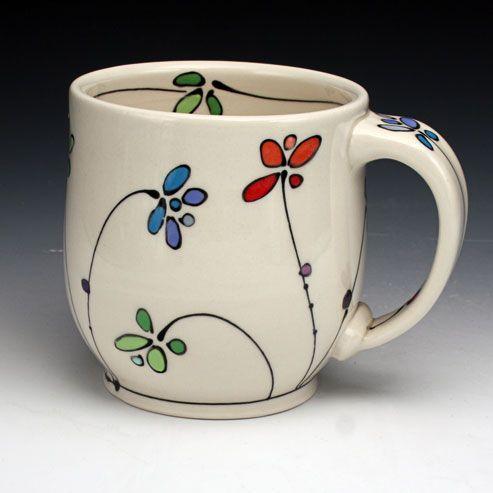 DIY Painted Mugs, A Beautiful Way Of Personalizing