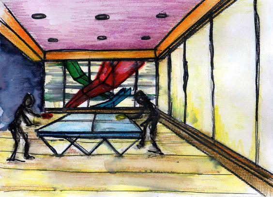 Grafía taller de arquitectura-watercolors-acuarelas