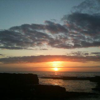 Sunset from Forss, Caithness